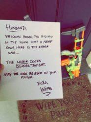 Brief an den Ehemann