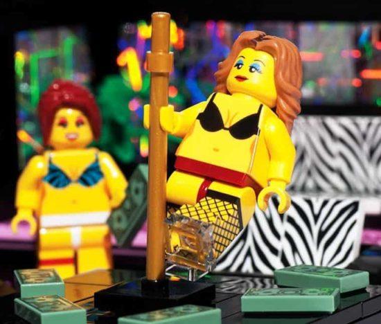 The Lego Strip Club