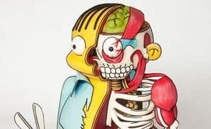 """Ralph Wiggum aus """"Die Simpsons"""" als gruselige Torte"""