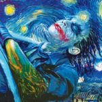 Joker in Van Gogh's Sternennacht