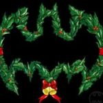 Batman Wreath T-skjorte