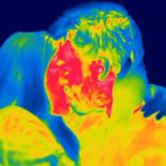 Reminiscent of the Predator: Daily seen by the thermal imager