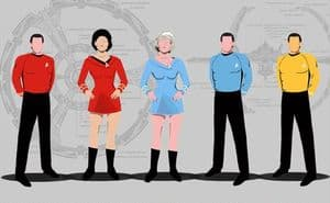 "Leitfaden zu den ""Star Trek"" Uniforms"