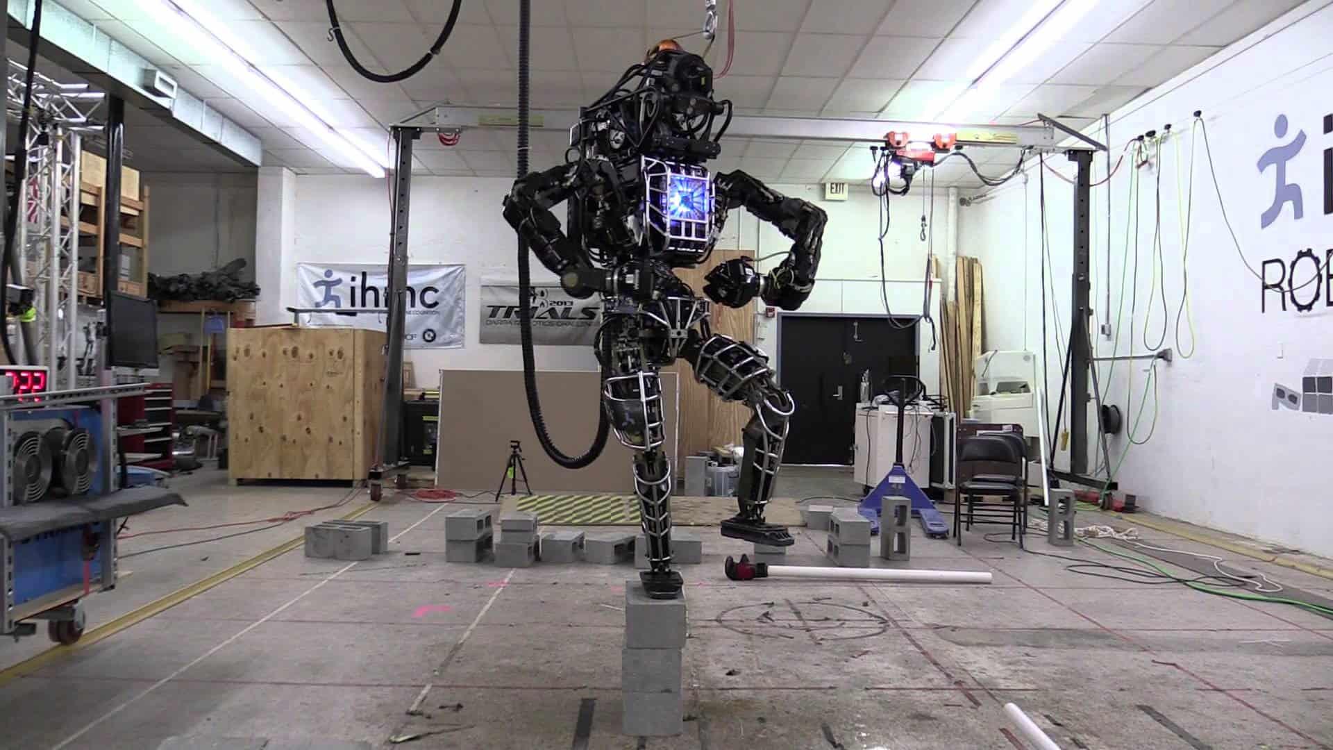Karate Kid Roboter