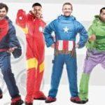 Les super-héros de Marvel comme dormir portable