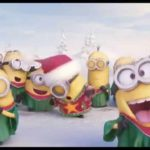 Minions chanter Jingle Bells