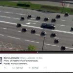 Escort de Vladimir Poutine