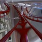 Skyscraper, the world's tallest roller coaster