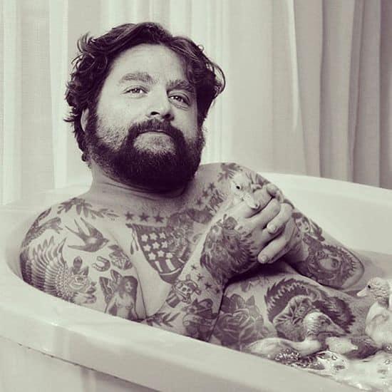Artist tattooed celebrities with Photoshop