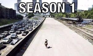 The Walking Dead: The Fall of Atlanta Season of 1 til 5
