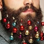 Beard Baubles: How to decorate a Christmas Bart