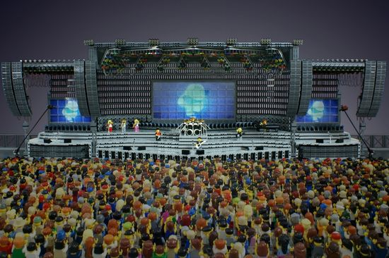 Lego Concert Stage