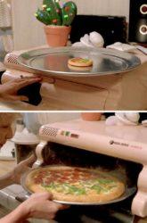 Quando é que o forno de pizza Hidratador?