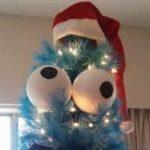 El monstruo de las galletas de Navidad