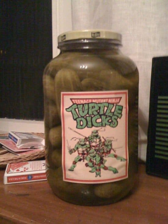 Teenage Mutant Ninja Turtle Dicks