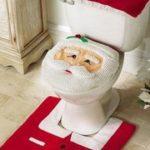Das Weihnachstmann Klo