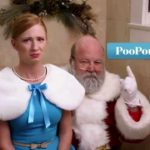 Even Santa Claus must go Poop