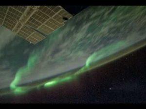Aurora Borealis from Orbit