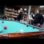 Shredded pool table