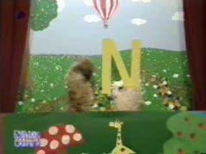 Bell and pompom: Letter N