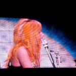 Bloody hell! Lady Gaga takes a Metallica dance break!