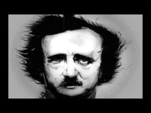 "Edgar Allan Poe liest ""The Raven"""