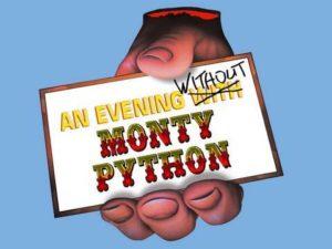 Monty Python olmadan An Evening Hakkında Eric Idle Sohbetleri