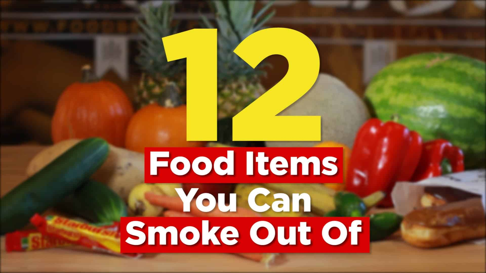 Essen, mit dem es sich kiffen lässt – Food Items You Can Smoke Out Of