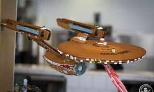 Where no Gingerbread ship has gone before