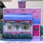 Animated Birdbox cartão de Natal Outstanding