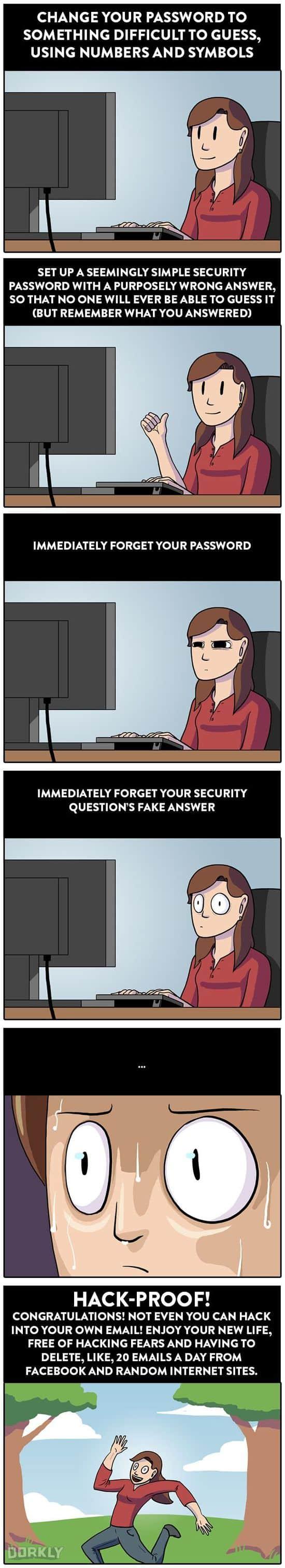 Wie man ein hacker-sicheres Passwort wählt