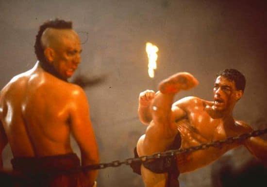 Kickboxer Jean-Claude Van Damme