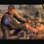 Obama and Palin in Mercenaries 2