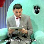Pee-wee får en iPad!