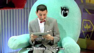 Pee-Wee saa iPad!