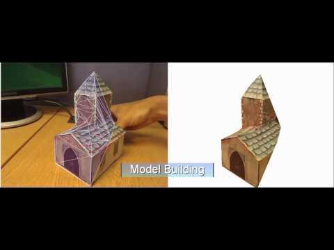 ProFORMA: Einfache Webcam als 3D-Scanner
