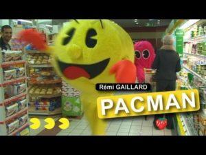 Remi Gaillard: Real Life Pac Man