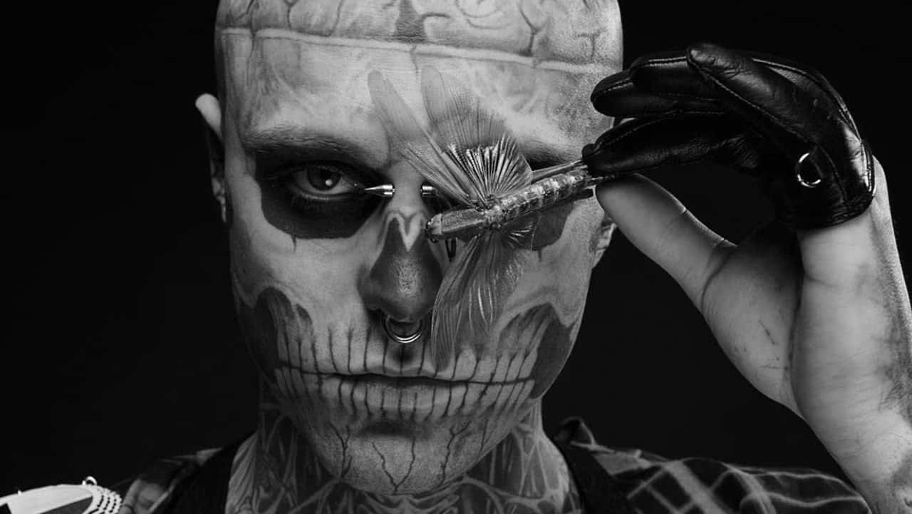 Rick Genest aka Rico the Zombie – Embrace Everything That Is Different
