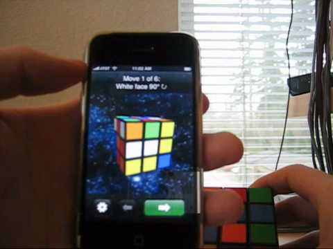 Rubiks Cube Cheater fürs iPhone