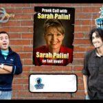 Sarah Palin speaks with President Sarkozy