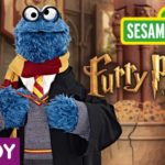 Sesame Street version of Harry Potter: Furry Potter and the Goblet of Cookies