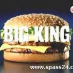 Burger King salat Schwachmat
