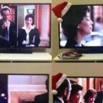 O grande jogo de beber televisão Natal