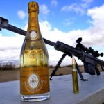 How to uncork a champagne bottle with a sniper rifle