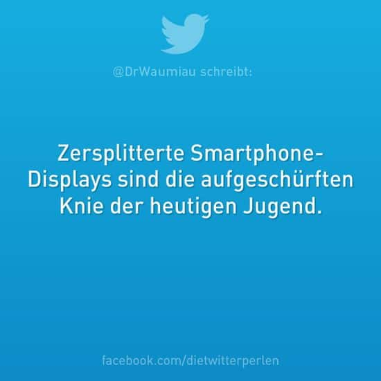Fragmenterade smarttelefondisplayer