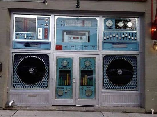 El escaparate de Boombox