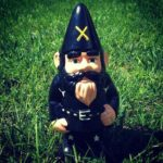 Lemmy Kilmister gnomo de jardim