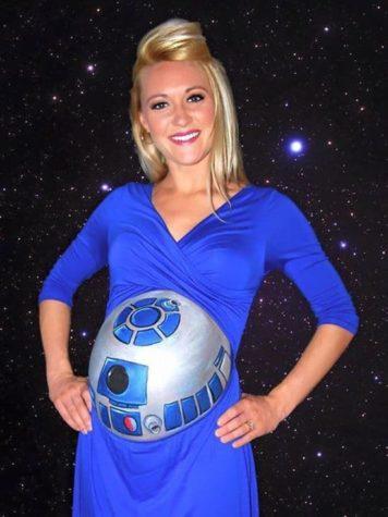 R2-D2 Babybauch