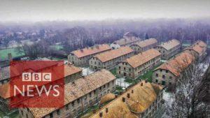 Auschwitz: Drohnen-Flug über Nazi-Konzentrationslager