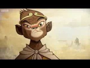 BBC Sport: Olympia 2008 Monkey Movie